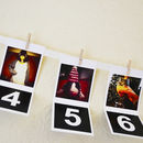 Personalised Photo Christmas Advent Calendar