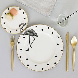 Flamingo Plate Set - new home gifts