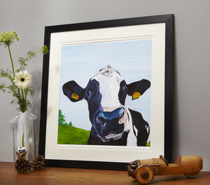 Flossie Cow Print - contemporary art