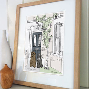 Home And Pet Illustration - gifts from pets
