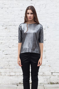 Silver Foil Top Made In UK