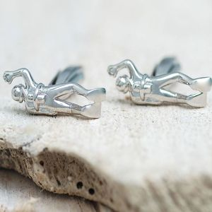 Personalised Scuba Diver Cufflinks