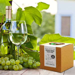 Grow Your Own White Wine Grape Vine - drink kits