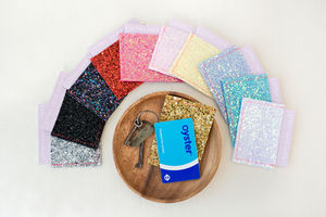Glitter Card Wallet Or Oyster Card Holder - passport & travel card holders