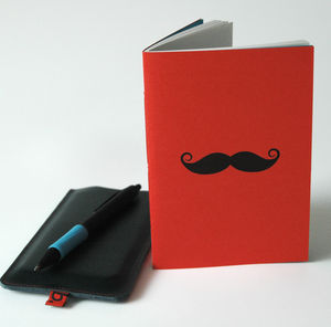 Moustache Notebook
