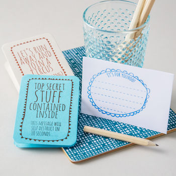 'Stay In Touch' Correspondence Kit