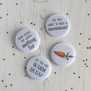 Frozen Inspired, Badge Stocking Fillers