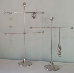 Silver Jewellery Stand – Four Arms Or Two Arms - women's jewellery