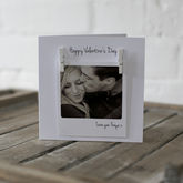 Personalised Polaroid Photo Peg Valentines Card - cards