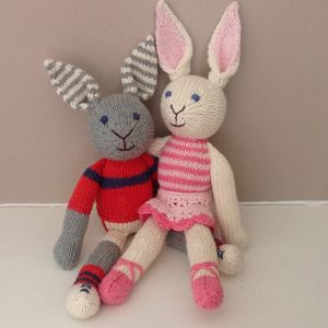 Organic Cotton Rabbit Soft Toys