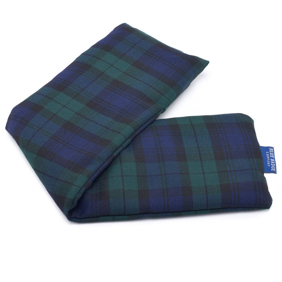 Microwavable Lavender Wheat Warmer In Tartan