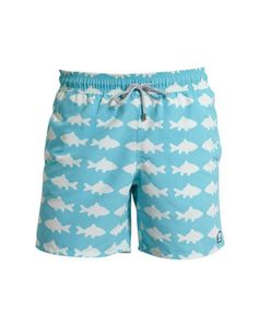 Men's Fish Swimming Trunks - swimwear