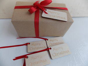 Five Merry Christmas Gift Tags
