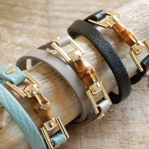 Leather Wrap Bracelet