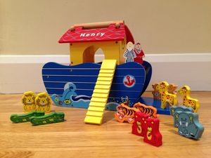 Personalised Wooden Noah's Ark - birthday gifts for children