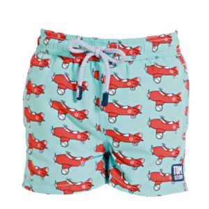 Men's Airplane Swimming Trunks - men's