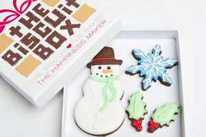 The Snowman Biscuit Gift