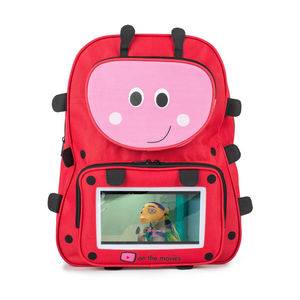 Child's Ladybird Backpack Complete With Tablet - travel activities