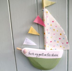 Bespoke Boat Hanging Decoration - decorative accessories