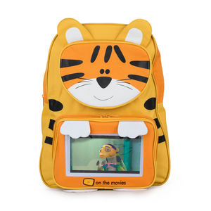Child's Tiger Backpack Complete With Tablet