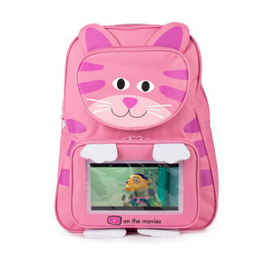 Child's Kitty Backpack Complete With Tablet - travel activities