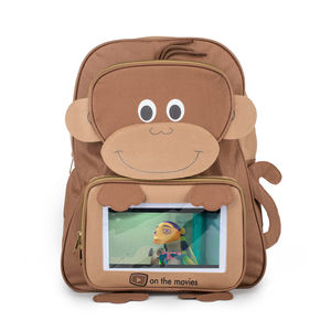 Child's Monkey Backpack Complete With Tablet