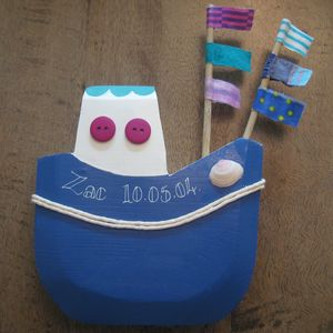 Chubby Fishing Boat - decorative accessories