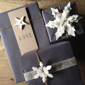 Snowflake Decoration - cards & wrap