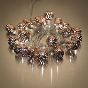 Maroq Light Chain Copper