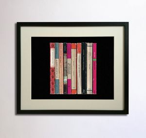 Kate Bush Lionheart Album As Books Poster - shop by price