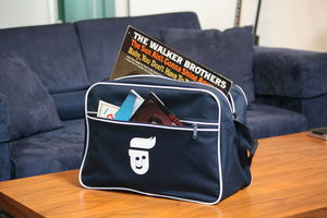 Retro Shoulder Bag That Comes With Music