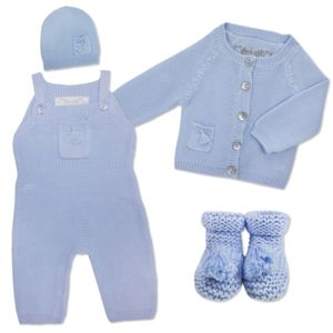 Baby Boy Knitted Cashmere Outfit