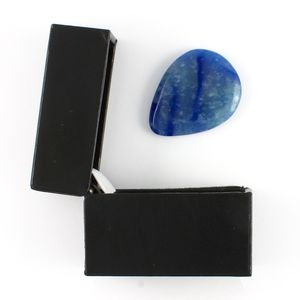 Blue Aventurine Guitar Plectrum In A Gift Box - plectrums