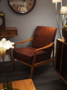 Low Slung Mid Century Style Chairs - furniture