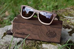 Personalised Handmade Wooden Sunglasses Made In Gb - men's accessories