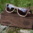 Personalised Handmade Wooden Sunglasses Made In Gb