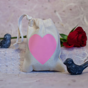 Heart Favour Bag