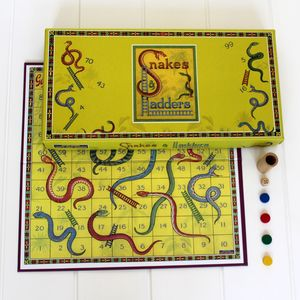 Snakes And Ladders Vintage Fun - traditional toys & games