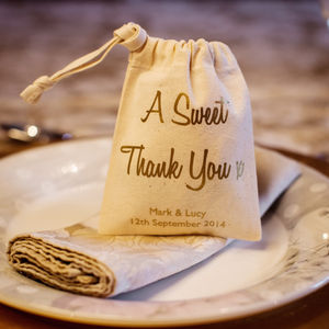 'A Sweet Thankyou' Favour Bag