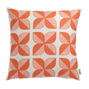 Rosette Tile Cushion - patterned cushions
