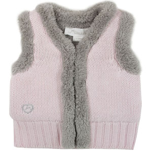 Monty French Designed Knit Lined Girls Gilet