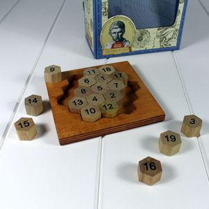 Aristotles Wooden Number Puzzle - board games & puzzles