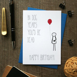 Bob: Birthday Years Card