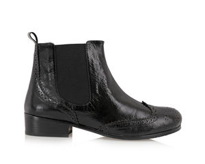 Chelsea Brogue Boots - shoes