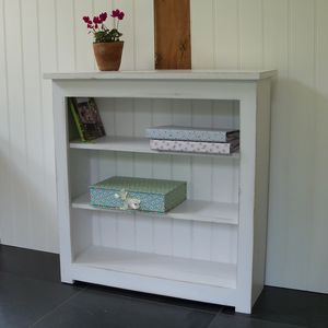 Shaker Bookcase Hand Painted In Any Colour - shelves