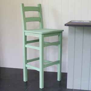 Bar Chair Hand Painted In Any Colour - furniture