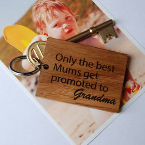 Personalised Only The Best Mums…Keyring - gifts for grandparents