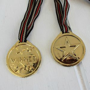 12 Winner's Medals For Sports Day Or Party Games