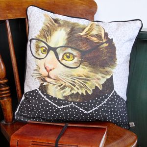Darlene Cat Cushion