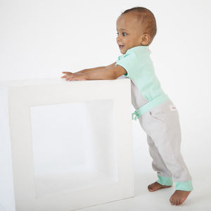 Organic Cotton Baby Joggers